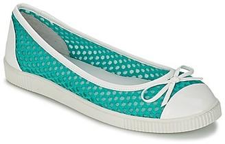 Mellow Yellow SAJOGY women's Shoes (Pumps / Ballerinas) in Green