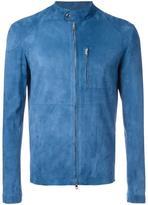 Salvatore Santoro - zipped leather jacket - men - Sheep Skin/Shearling - 48