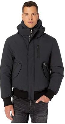 Mackage Dixon-NF Hooded Down Jacket (Black) Men's Coat