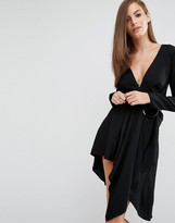 Style Stalker Stylestalker Maia Long Sleeve Dress With Hoop Detail