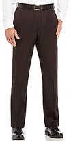 Roundtree & Yorke Roundtee & Yorke Travel Smart Non-Iron Flat Front Ultimate Comfort Microfiber Stretch Dress Pants