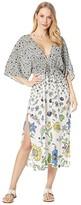 Tory Burch Swimwear Printed Midi Beach Dress Cover-Up (Love Floral Degrade) Women's Swimwear