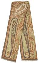 Etro Cashmere-blend Paisley Scarf