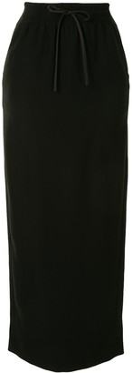 Emporio Armani Fitted Long Skirt