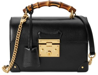 Gucci Padlock Small Bamboo Shoulder Bag