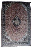 """Hand-Knotted Mansion Size Silk Qum Oriental Carpet (17' x 27'5"""")"""