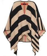 Burberry Striped merino wool scarf
