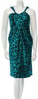 David Szeto Silk Dress