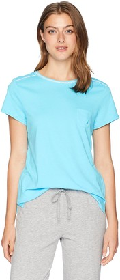 Nautica Women's Short Sleeve Sleep Top