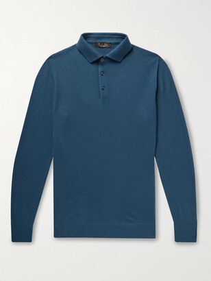 Loro Piana Baby Cashmere Polo Shirt