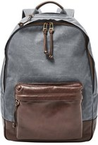Fossil 'Estate' Canvas Backpack