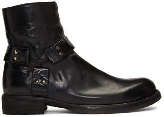 Officine Creative Black Ikon 055 Boots