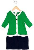 Milly Minis Girls' Rib Knit Colorblock Dress