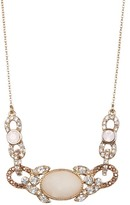 Jenny Packham Pave Crystal & Glass Frontal Necklace
