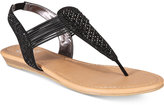 Material Girl Siera Flat Thong Sandals, Created for Macy's