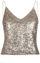 Alice + Olivia Delray Sequin Embellished Camisole