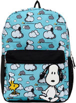 Asstd National Brand Peanuts Snoopy Lost in the Clouds 17 Backpack