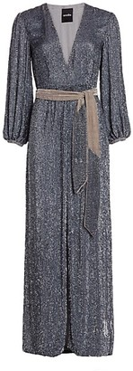 retrofete Margarita Sequin Maxi Dress