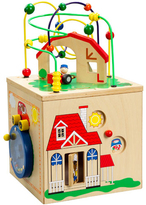 Hape Down on the Farm Discovery Box