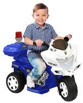 National Products LTD. Kid Motorz Lil Patrol 6V Ride On - Blue/White