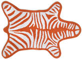 Jonathan Adler Zebra Bath Mat - Orange