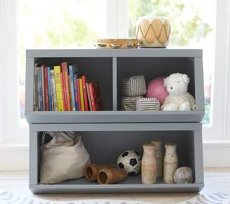 Pottery Barn Kids Double Market Bin with Divider