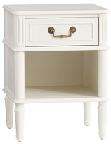 Pottery Barn Kids Zoey Nightstand, Vintage Simply White