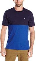 U.S. Polo Assn. Men's Color Block Crew Neck T-Shirt