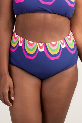 Trina Turk Rainbow Swirl Plus High Waist