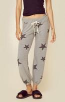 Sundry star pattern sweat pants