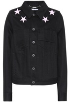 Givenchy Embroidered denim jacket
