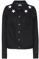 Givenchy Veste en denim à broderies