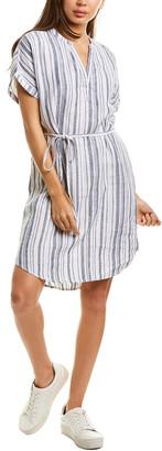 Michael Stars Amelee Stripe Linen Shift Dress