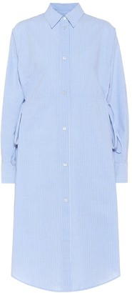 MM6 MAISON MARGIELA Striped cotton shirt dress