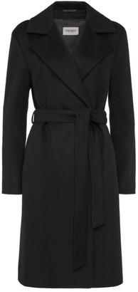 Cinzia Rocca Tie-Waist Cashmere Coat