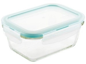 Lock n Lock Purely Better Glass 14-Oz. Rectangular Food Storage Container