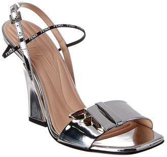 Fendi Ffreedom Leather Sandal