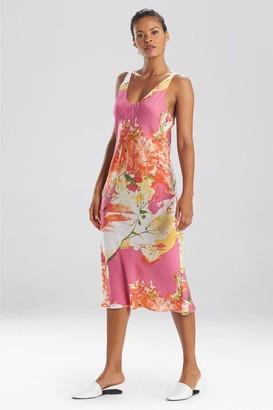 Natori Painted Bouquet Gown