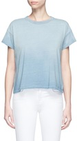 AG Jeans 'Penrose' cropped ombré T-shirt