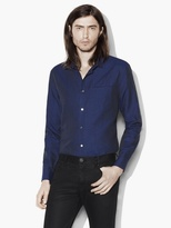 John Varvatos Linen Cotton Sport Shirt