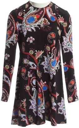Mary Katrantzou Black Silk Dresses