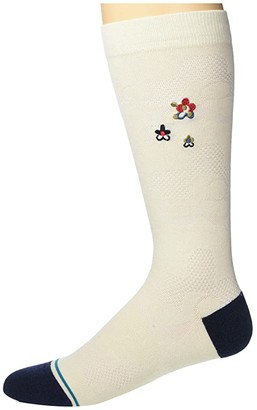 Stance Medallion Crew (Off-White) Crew Cut Socks Shoes