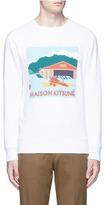 MAISON KITSUNÉ 'Hangar' print cotton sweatshirt