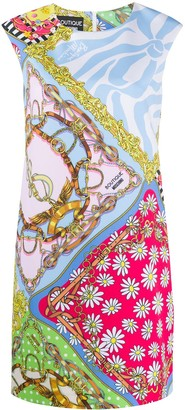 Boutique Moschino Fantasy-print shift dress