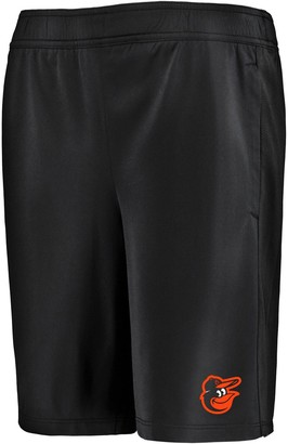Under Armour Youth Black Baltimore Orioles MK-1 Performance Shorts