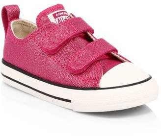 Converse Baby's & Little Girl's Summer Sparkle Low-Top Chuck Taylor Sneakers