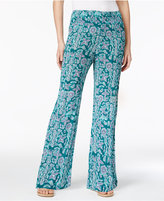 Style&Co. Style & Co Printed Wide-Leg Pants, Created for Macy's