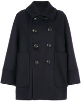 DSQUARED2 oversized peacoat