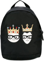Dolce & Gabbana crown backpack
