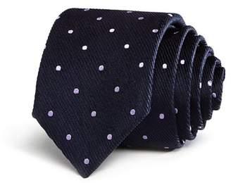 BOSS Spaced Dot Skinny Tie